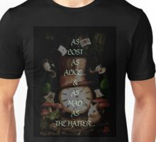 MAD AS THE HATTER Unisex T-Shirt