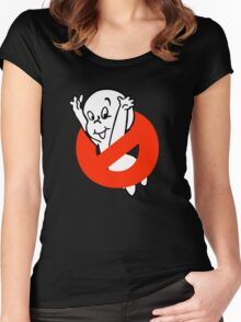 No Ghost Women's Fitted Scoop T-Shirt