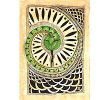 Little green snake Photographic Print