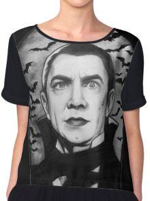 Bela Lugosi as Dracula Chiffon Top