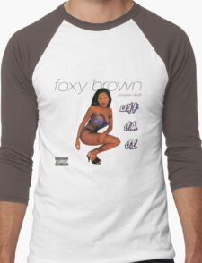 Foxy Brown Chyna Doll Men's Baseball ¾ T-Shirt