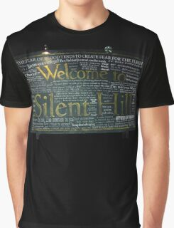 Silent Hill Sign Quotes Graphic T-Shirt