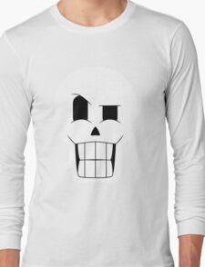 Simplistic Papyrus Long Sleeve T-Shirt