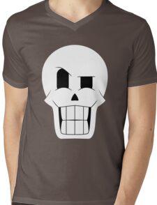 Simplistic Papyrus Mens V-Neck T-Shirt