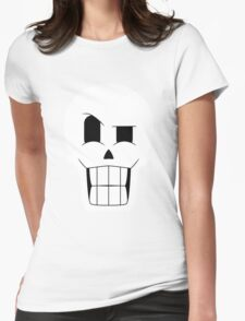 Simplistic Papyrus Womens Fitted T-Shirt