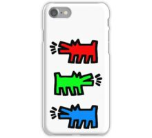 "HARING - RGB "" Red Green Blue"" iPhone Case/Skin"