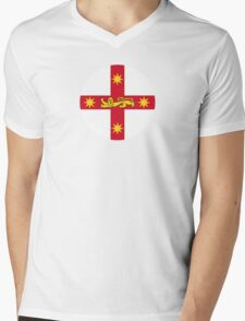 State Badge of New South Wales Mens V-Neck T-Shirt