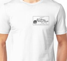 SLWG Classic Logo in Black  Unisex T-Shirt