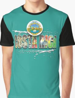 costa rica Graphic T-Shirt