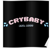 Cry Baby logo (with fill) Poster