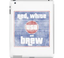 Red, White and Brew iPad Case/Skin
