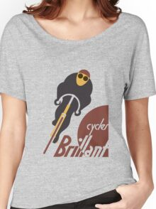 Retro vintage cycles Brillant advertising Women's Relaxed Fit T-Shirt
