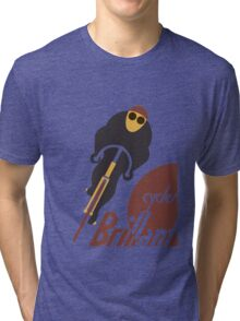 Retro vintage cycles Brillant advertising Tri-blend T-Shirt