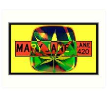 Mary Jane Lane - Leaf Art Print