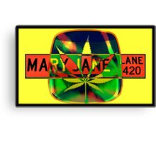 Mary Jane Lane - Leaf Canvas Print