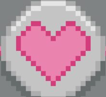 Pixel 'Companion Cube' Sticker