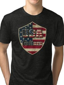 USA Guitars Tri-blend T-Shirt