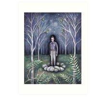Moonless Night Art Print