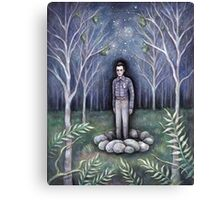 Moonless Night Canvas Print