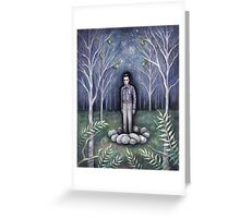 Moonless Night Greeting Card