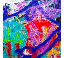 Crazy Graffiti Photographic Print