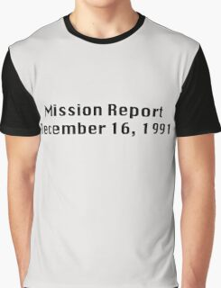 Mission Report December 16, 1991 Graphic T-Shirt