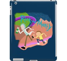 Rick and Morty Running  iPad Case/Skin