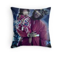 Chris & Royalty Throw Pillow