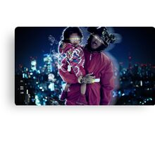 Chris & Royalty Canvas Print