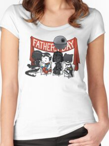 Happy Father's Day! Women's Fitted Scoop T-Shirt
