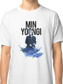 Min Yoongi Water Color Classic T-Shirt