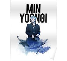 Min Yoongi Water Color Poster
