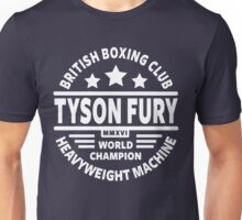 Tyson Fury Boxing Club Unisex T-Shirt