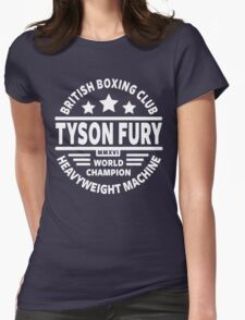 Tyson Fury Boxing Club Womens Fitted T-Shirt