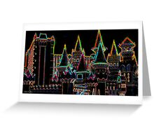Neon Kingdom Greeting Card