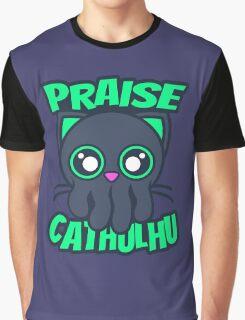 Praise Cathulhu Graphic T-Shirt