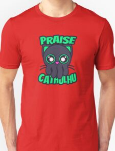 Praise Cathulhu Unisex T-Shirt