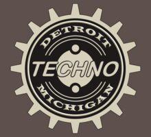 Detroit Techno Music Baby Tee