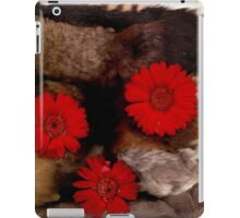 Flowers and structure iPad Case/Skin