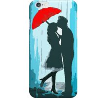 Passionate Parasol Pair iPhone Case/Skin