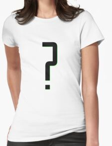 Gotham - Nygma Womens Fitted T-Shirt