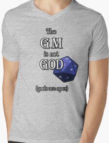 The GM Is Not God Mens V-Neck T-Shirt