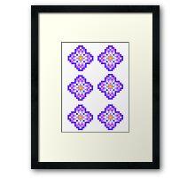 Violet Violet Framed Print