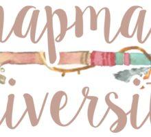 Chapman University Sticker
