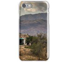 Dream home in the hills iPhone Case/Skin