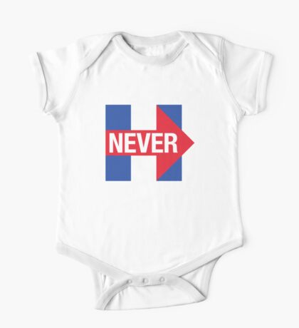 NEVER HILLARY One Piece - Short Sleeve