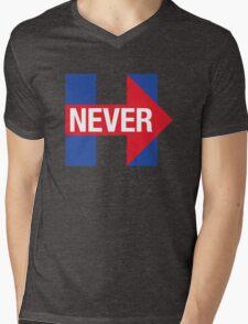 NEVER HILLARY Mens V-Neck T-Shirt