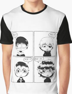 Tokyo Ghoul: The Hair-volution Graphic T-Shirt