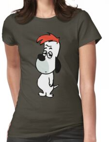 Droopy 2  Womens Fitted T-Shirt