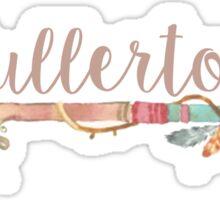 Fullerton Sticker